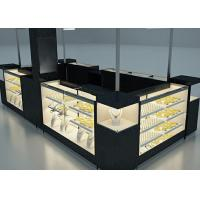 China Elegant Appearance Jewelry Showcase Kiosk With Fully - Enclosed Structure wholesale