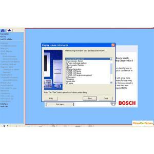 Quality BOSCH ESI 2014 Q1 Version ( Tronic ) Automotive Diagnostic Software Multi for sale