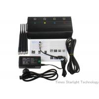 China Desktop Smart Cell Phone Signal Jammer , Cellular Phone GPS WiFi Jammer wholesale
