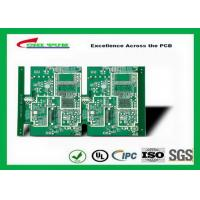 China GPS Printed Circuit board  8layer FR4TG150 1.6MM Immersion Gold green solder mask wholesale