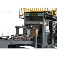 China Kraft Cement Paper Bag Making Machine / Sugar Valve Paper Bag Making Equipment wholesale