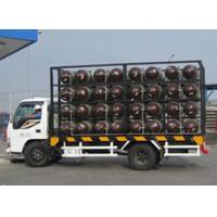 China Type 2 CNG Gas Cylinder Mobile CNG Cascade For Natural Gas Transportation Trailer wholesale