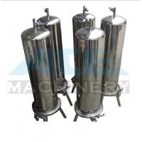 Quality Stainless Steel Multiple Bag Cartridge Filter For Ultra Purification Bags Water Filter Machine for sale