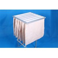 China Medium Efficiency F5 Pocket Air Filter , Anti Static Air Conditioning Dust Filter Bag wholesale