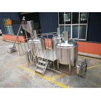 China 10 Bbl Industrial Beer Brewing Equipment , Mini Beer Brewery Equipment wholesale