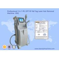 China 2500W RF Shr Hair Removal Machine With 10.4 Inch Touch Color Screen wholesale