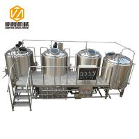 China SL-1200 Commercial Brewing Equipment Stainless Steel / Red Copper Material wholesale