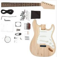 China Fender ST Style Solid Mahogany DIY Electric Guitar Kits Single Coil Guitar AG-ST2 wholesale