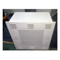 China Customized Dimension HEPA Filter Box / HEPA AIR Diffuser For Clean Room wholesale