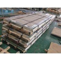 China TISCO / ZPSS Cold Rolled Stainless Steel Plate Slit Edge And HL Surface Finishing wholesale
