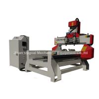 China 500*1000mm Flat Cylinder CNC Carving Machine with 2 Spindles 2 Rotary Axis wholesale