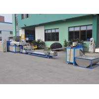 Quality Automatic crushing&loading side feeder recycling machine line LDS motor 5.5kw for sale