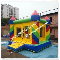 China Hot Sell Inflatable colourful bouncer,standard bouncy castle wholesale