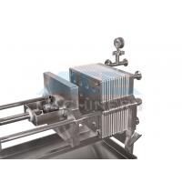 China Small Size Stainless Steel Manual Plate and Frame Filter Press wholesale