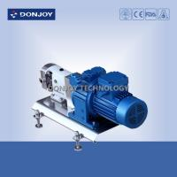 China 316L Horizontal TUL Lobe High Purity Pumps with Explosion proof Motor Clamp End Connection on sale