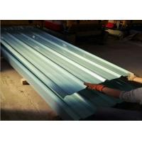China Anti Corrosion Colour Coated Steel Sheets , Reliable Coated Metal Roofing Sheets wholesale