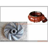 China Metallurgy Mining Slurry Pump Spare Parts Corrosion Resistance Various Materials wholesale