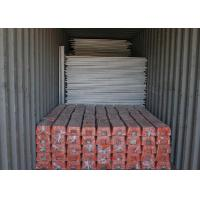 China Galvanized Spraying Builders Temporary Fencing , Temporary Construction Fence Panels on sale