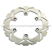 China Aftermarket Front Motorcycle Brake Disc Honda CBF 500 VFR750F Heat Treatment wholesale
