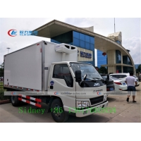 China JMC 4X2 Small Refrigerated Truck For Food Transport wholesale