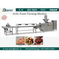 China Cold Extruded Dog Jerky Snack Treat Machine with capacity of  200-300kg per hour Pet Food Machine wholesale