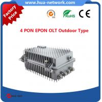 Buy cheap 4 GEPON OLT OUTDOOR TYPE/4 PON OLT EPON OUTDOOR TYPE/4 GEPON OLT/ Cortina chipset EPON OLT/Compatible with many ONUs product