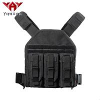 China Black 1000D nylon Adjustable Tactical Gear Vest For Combat Training wholesale