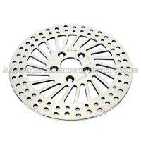 China Super Glide Silver 292mm Front Brake Rotors With High Braking Performance wholesale