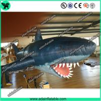 Buy cheap 3m Inflatable Shark with Blower for Indoor Event Stage Decoration,Inflatable Shark Model from wholesalers