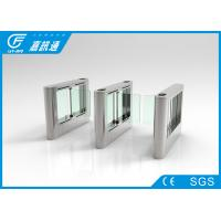China Infrared Sensor Automatic Systems Turnstiles , Durable Access Control Turnstile Gate wholesale