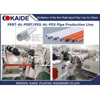 China PEX-AL-PEX Plastic Aluminum Pipe Extruder Machine / Multilayer PEX Pipe Production Line wholesale