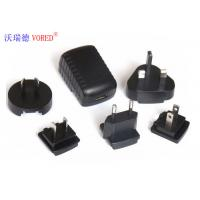 China Black Interchangeable Power Supply PC ABS Material 5 Volt Output Voltage wholesale