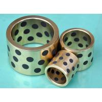 China Cast Bronze Bearings Strengthening Copper based With Solid Lubricant Plugs wholesale