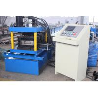 China 2-4mm Thickness Galvanized Steel  C Purlin Roll Forming Machine High Speed Durable Automatic wholesale