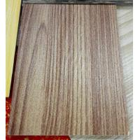 China Natural Wooden Texture Color Coated Aluminum Coil , Textured Aluminum Trim Coil  wholesale