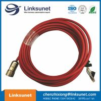 China ABB Robot Teaching Device Soldering Wiring Harness Hummel Copper - Zinc Alloy Straight Connector wholesale