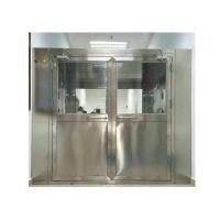 China High Efficiency Stainless Steel Air Shower Equipment For Pharmaceutical Industry wholesale