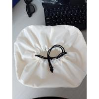China Large Custom White Drawstring Bag , Nylon Drawstring Bags 20*8 Cm wholesale