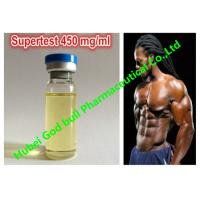 Buy cheap Supertest 450 mg / ml Testosterone Hormone Injection mixed long active product