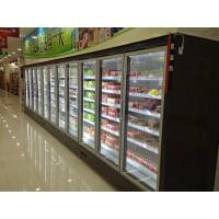 China 5Door Supermarket Freezer Display White Color Supermarket Frozen Showcase wholesale
