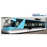 China Large Capacity Airport Coaches Aero Bus With 4 Pneumatic Double Opening Doors wholesale