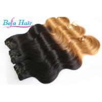 China Kanekalon Braiding 28 inch Ombre Remy Hair Extensions Smooth Indian Virgin Hair wholesale