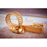 China Personalized Metal Tie Clip With Color In Gold / Silvery Plating For Famliy Gift wholesale
