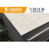 China Flat Prefab House Hotel Sandwich Panel Construction Materials Grey wholesale
