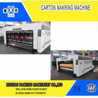 Buy cheap Paper Industrial Printing Die Cutting Machine With Multi Color Water Ink , Fully from wholesalers