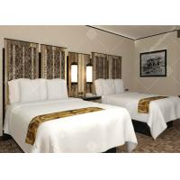 China Full Size Five Star Hotel Furniture , Luxury Contemporary Bedroom Furniture Sets wholesale