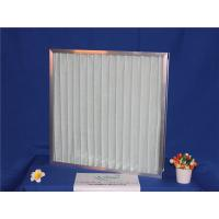 China G4 Pleat Panel Metal Mesh Pre Filter For Air Condition System With Aluminum Frame wholesale