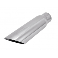 """China SS304 2.25"""" Inlet 3"""" Outlet 12"""" Exhaust Pipe Tips wholesale"""