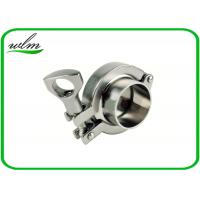 "China SMS3017 Sanitary Tri Clamp Fittings Aseptic Clamp Pipe Coupling 1""-4"" wholesale"