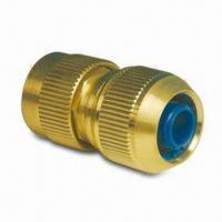 China Quick Hose Fitting, Measuring 3/4-inch, Made of Brass wholesale